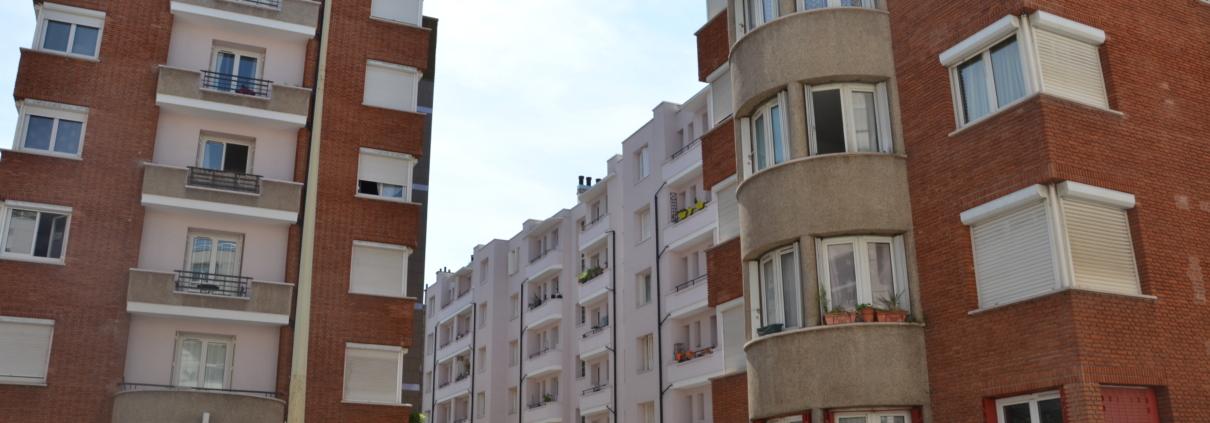 Immeuble en brique