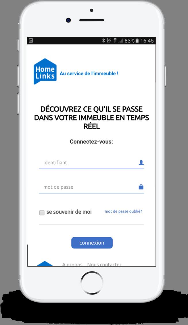 Homelinks version mobile