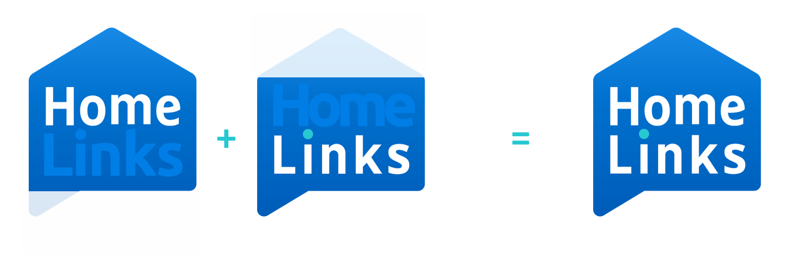 Construction du logo Homelinks