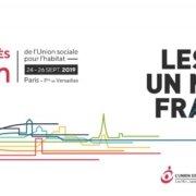 Affiche web congrès Hlm de l'union social pour l'habitat en septembre 2019