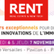 Affiche web du salon RENT en novembre 2019