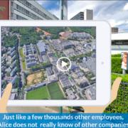 Vidéo parc d'affaire en anglais