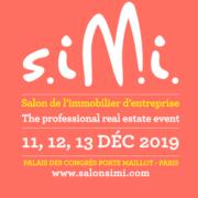 Affiche web du salon SIMI décembre 2019